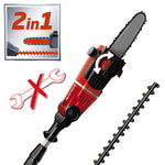Cordless Multi-Tool Hedge Trimmer And Pole Saw