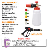 Adjustable Foam Spray Nozzle