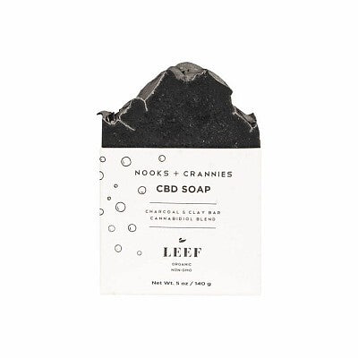 Leef Nooks + Crannies Soap Charcoal & Clay
