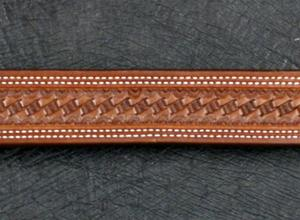 Add Basket Weave To Your Belt