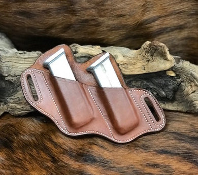 A CUSTOM FIT TO YOUR GUN-DOUBLE SLANT MAG HOLDER