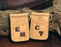 Add Initials To Belt/Wallet/Holster-Stamped