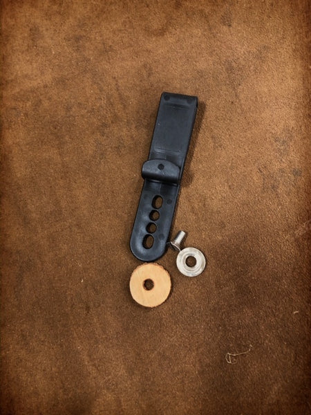 Add (2) Kydex J-Hook Tuckable Clips for Tuckable Dual Carry Holster
