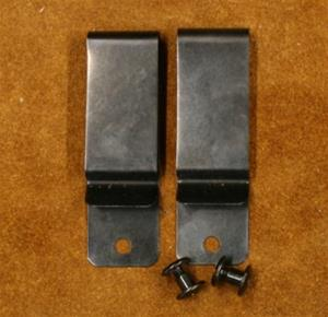 Replacement Metal Belt Clips Set of (2) for Dual Carry Holsters