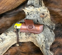 Crossdraw Knife Sheath for Jumbo Trapper