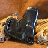 In-Stock Cross Draw Holster for Glock 26/27/33- Black  Left Hand