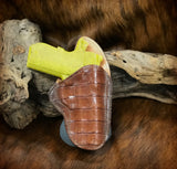 A CUSTOM FIT TO YOUR GUN-PADDLE HOLSTER