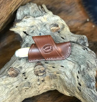 Crossdraw Knife Sheath for Trapper