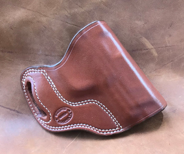 In-Stock Crossdraw Holster for S&W M&P .45 Full Size Saddle Brown Right Hand