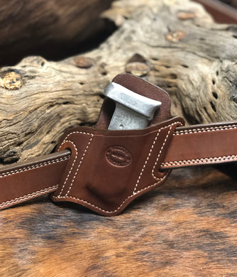 A CUSTOM FIT TO YOUR GUN-SINGLE SLANT MAG HOLDER