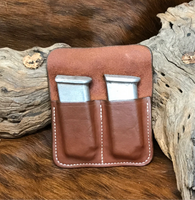 A CUSTOM FIT TO YOUR GUN-DOUBLE POCKET MAG HOLDER