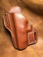 "Azle Bodyguard Holster for Springfield XD 45 5""- Saddle Brown Left Hand"