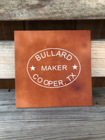 Bullard Leather Decal