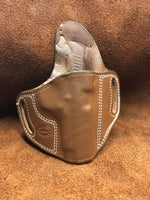 "In-Stock Combat Holster for Sig Sauer 1911 3.3"" Saddle Brown Right Hand"