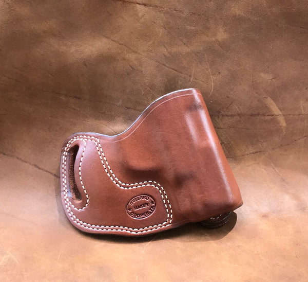 In-Stock Crossdraw Holster for S&W M&P Shield 45 Saddle Brown Right Hand