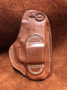 "Sale-OWB w/Belt Loop for Springfield XDS 3.3"" Saddle Brown ""We The People""Left Hand"