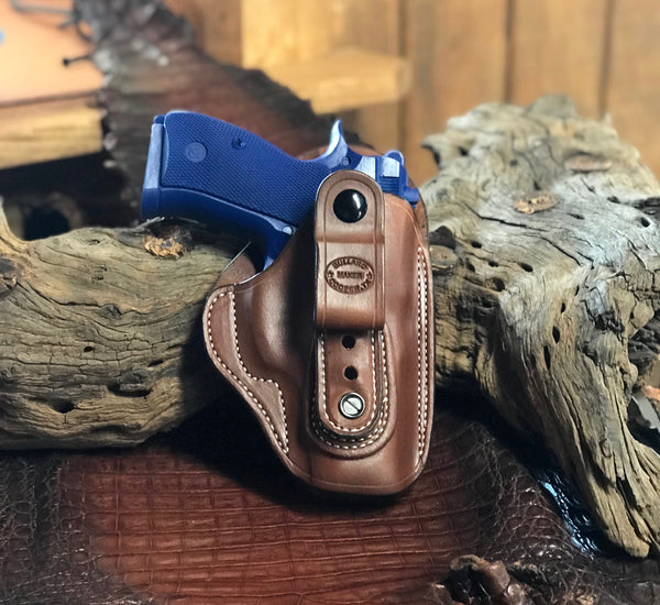A CUSTOM FIT TO YOUR GUN-TUCKABLE IWB