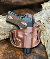 A CUSTOM FIT TO YOUR GUN-BELT SLIDE