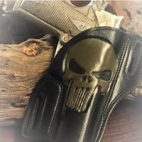 Add Punisher Skull Carving To Your Holster
