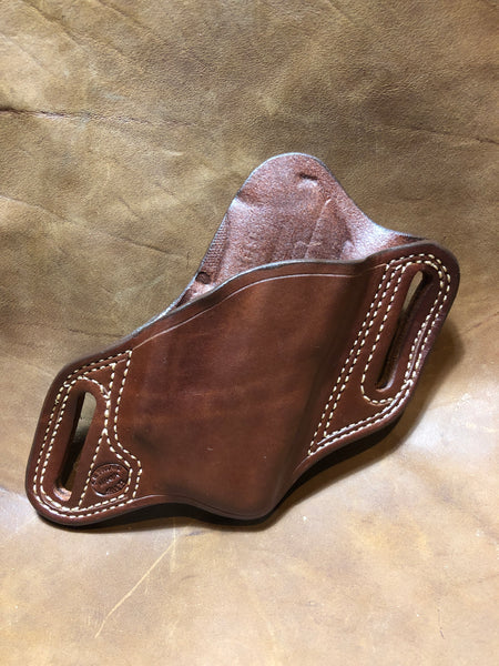 Azle Bodyguard Holster for Ruger LCP w/ CT Laser- (Saddle Brown) LH