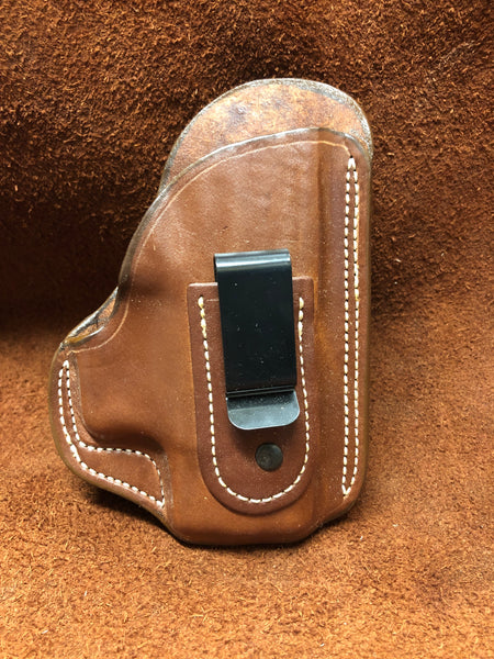 "Azle IWB w/belt clip Holster for Springfield XD 3"" - Saddle Brown Right Hand"