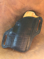 "Bodyguard Holster for Springfield XD 4""- Genuine Black Tigershark Right Hand"