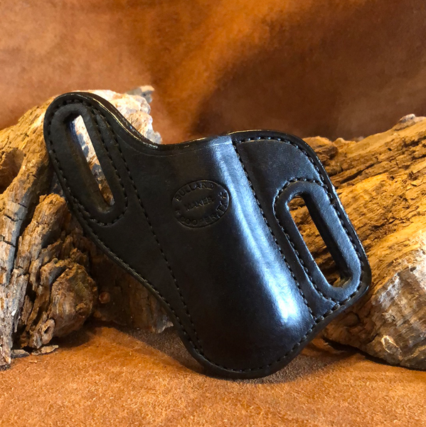 In-Stock Left Side Slant Knife Sheath for Jumbo Trapper- Black