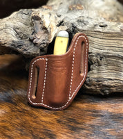 Forward Slant Knife Sheath for Jumbo Trapper