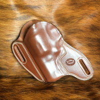 "In-Stock Bodyguard for Smith & Wesson N Frame 3""- (Saddle Brown) Left Hand"