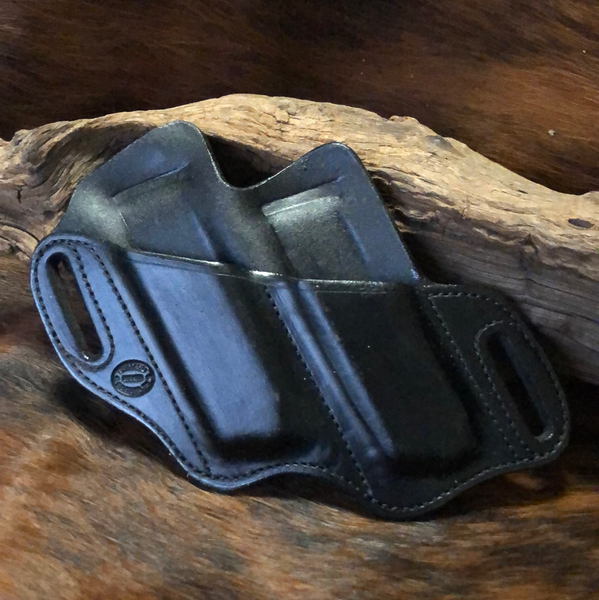 In-Stock Double Slant Mag Holder for 1911- (Black) Left Side