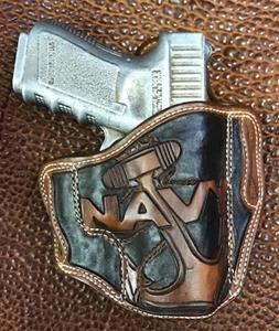 Add Navy Anchor Carving To Your Holster
