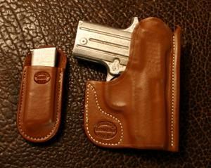 A CUSTOM FIT TO YOUR GUN-POCKET HOLSTER & MAG COMBO