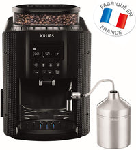 Load image into Gallery viewer, EA816031 Machine à Café Automatique avec Broyeur à Grains Essential Ecran LCD avec Mousseur à Lait Pot Inox Cafetière Café Grains Pression 15 Bars Thermoblock Cappuccino Espresso Noir