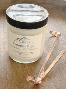 Pineapple Sage | Coconut Wax Candle | 8 oz