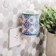 Load image into Gallery viewer, Indigo Porcelain | Wax Melter | Electric wax warmer