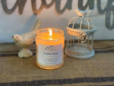 Candied Citrus | Coconut Wax Candle | 8oz
