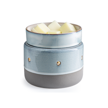 Load image into Gallery viewer, Glazed Concrete | Wax Melter | Electric wax warmer
