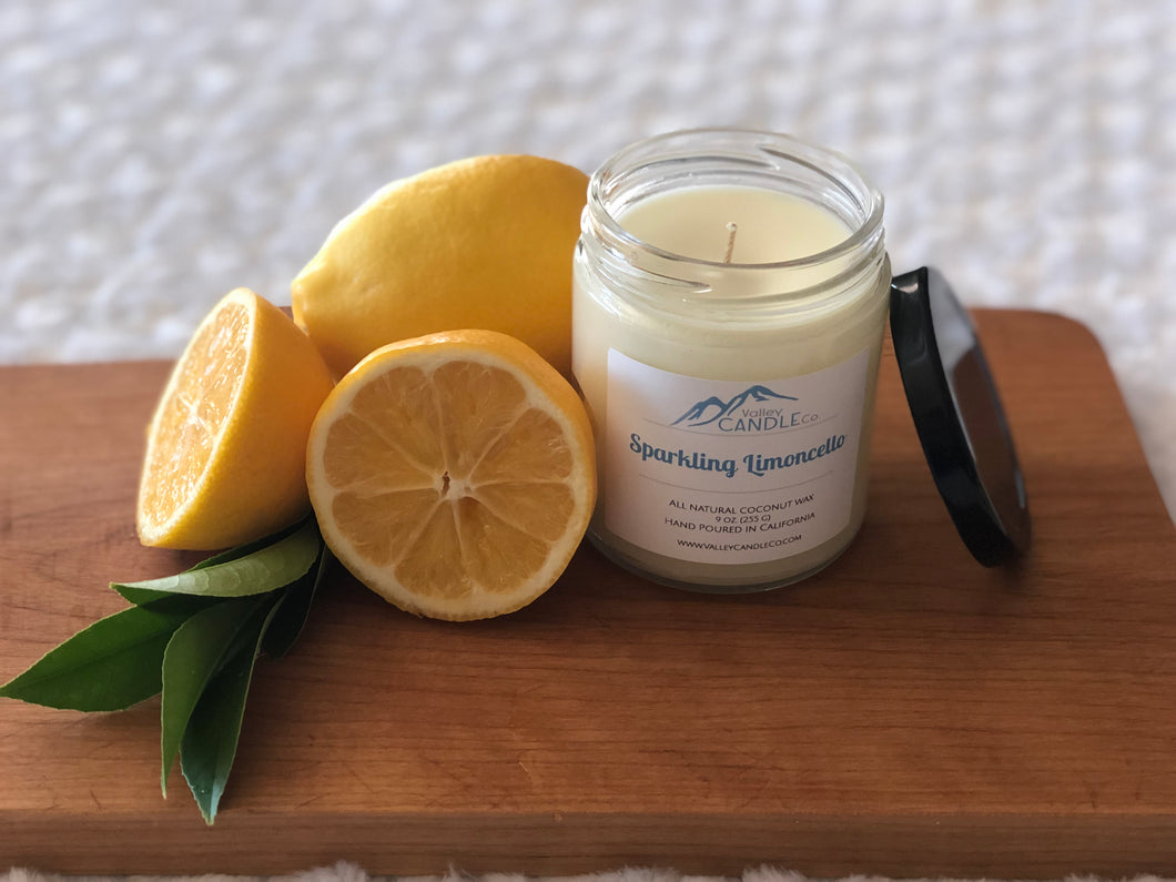 Sparkling Limoncello | Coconut Wax Candle | 8oz