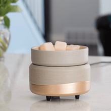 Load image into Gallery viewer, Gray-n-Gold Wax Warmer | Wax Melter | Electric wax warmer