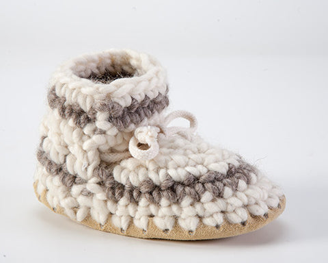 Padraig Cottage, Baby Slippers sz 3-7