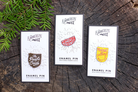 Kimberlin Co., Enamel Pins