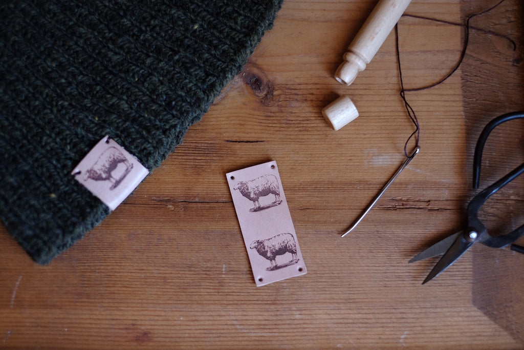 Tolt Leather Sheep Tag