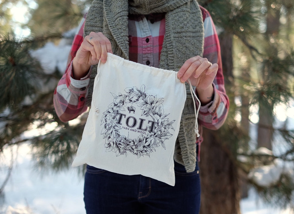 Tolt Holiday Wreath Project Bag