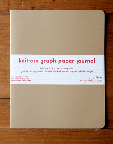 Knitters Graph Paper Journal, Rowan Morrison