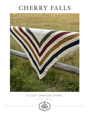 Camp Tolt, Cherry Falls Shawl - Free PDF Download