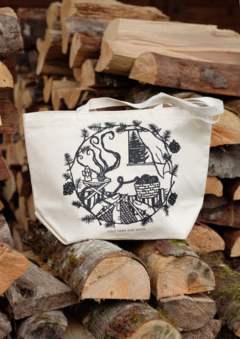 A Sense of Place Paper Cut Tote