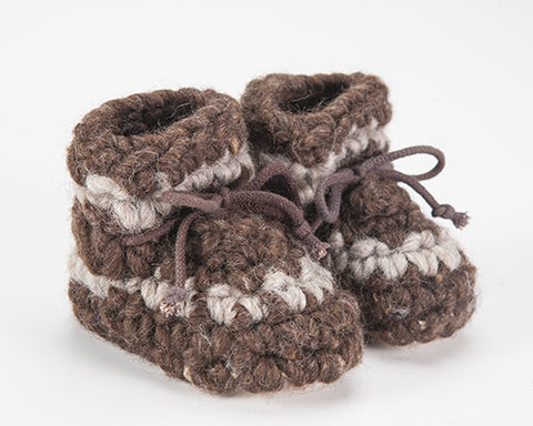 Padraig Cottage, Newborn Slippers, neutrals