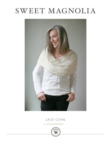 Sweet Magnolia Cowl Pattern, PDF Download