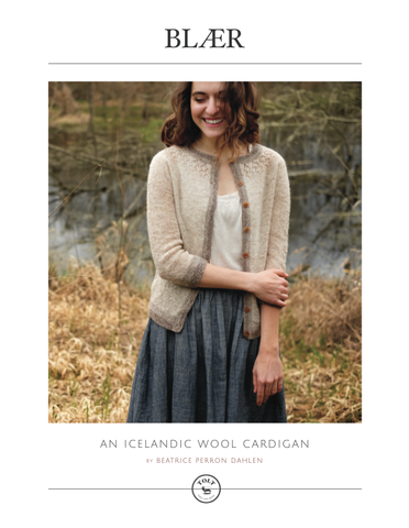 Blær Cardigan Pattern, PDF Download