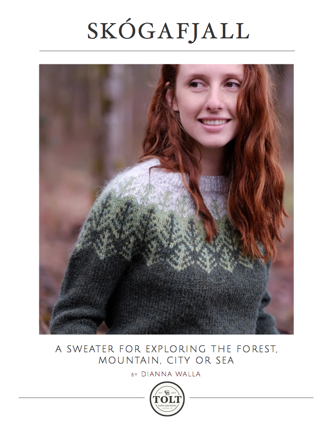 Skógafjall Pullover, PDF Download